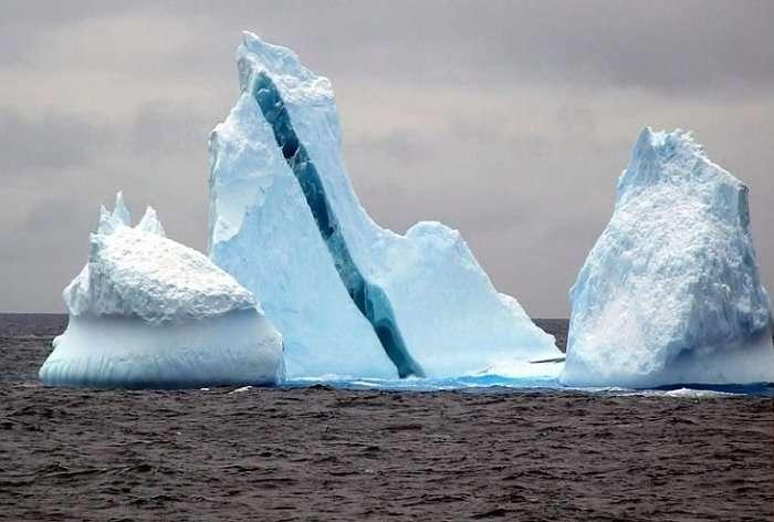Айсберги.