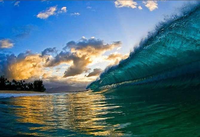 Гавайские волны фотографа Кларка Литтла