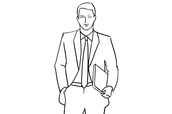 21 поза для мужского портрета