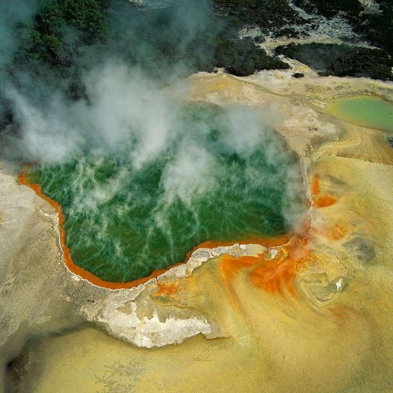 Аэрофотографии нетронутых мест Земли от Бернхарда Эдмайера
