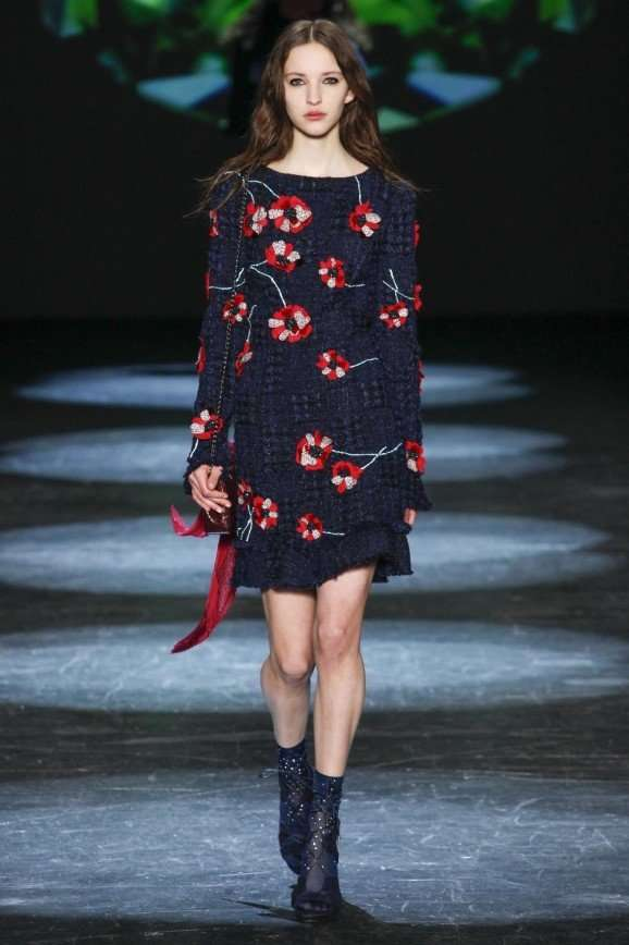 Monique Lhuillier осень-зима 2016-2017