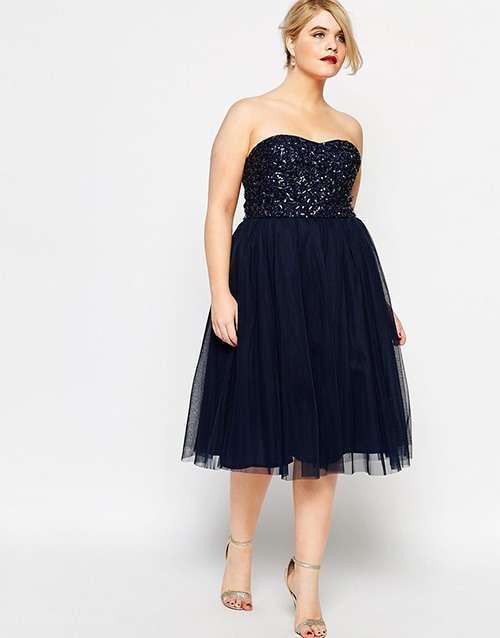 Вечірні сукні для великих розмірів