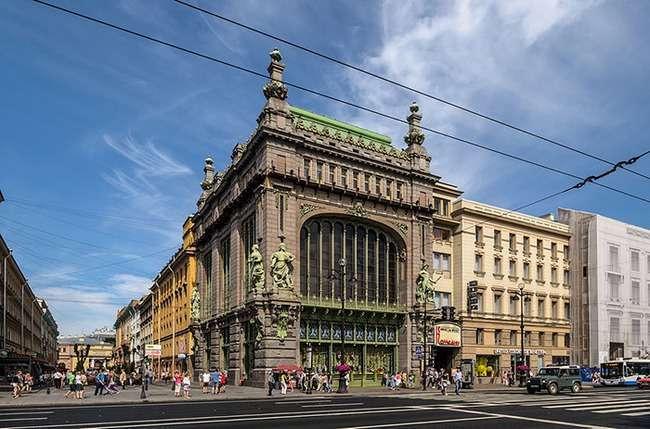 Санкт-Петербург. Прогулянка по Невському проспекту