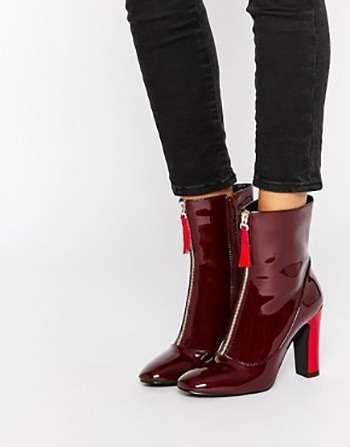 Бордова взуття, головний тренд весни 2016