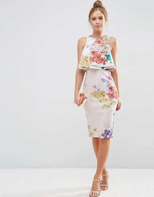 Літні сукні з квітковим принтом 2016 - Salfetki df996577e33f4