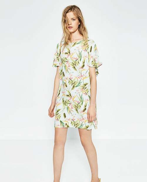 Літні сукні з квітковим принтом 2016