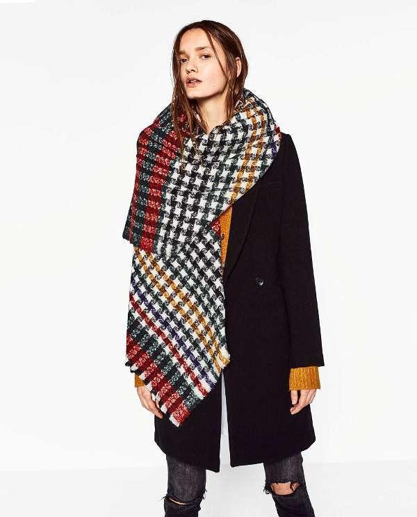Модні шарфи 2017