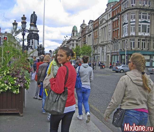 Екскурсія по Дубліну частина 4