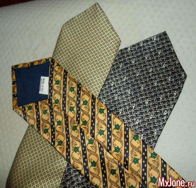 Снуд з шовкових чоловічих краваток