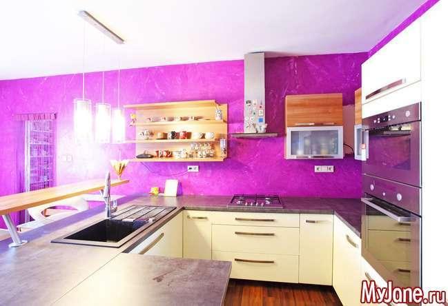 Як вибрати колірну гамму кухні