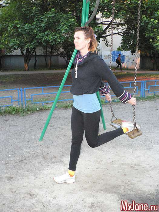 Незвичайні пристосування для фітнесу: гойдалки