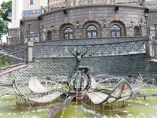 Феєрверк фонтанів пізніших часів