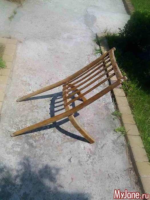 То чи стілець, чи то клумба