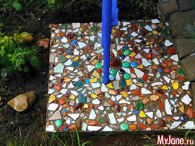 Мозаїка на дачі