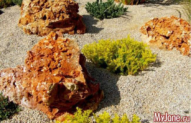 Рокарій на дачі: «родич» альпійської гірки і японського саду каменів