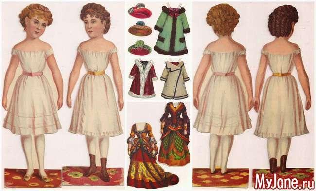 Паперова лялька: від Фанни до Барбі