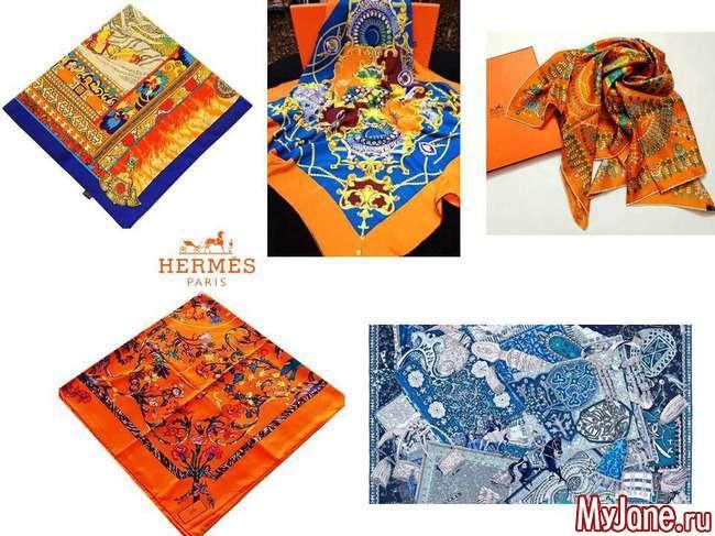 Як красиво носити шарфи та хустки