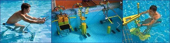 Новинки аквафітнесу: підводні тренажери