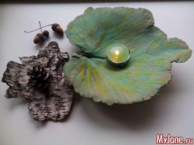 Осінній свічник