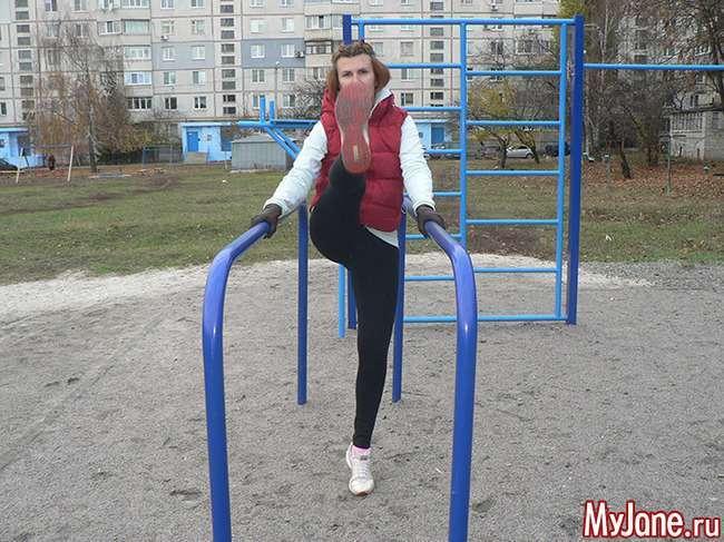 Вправи на брусах для дівчат