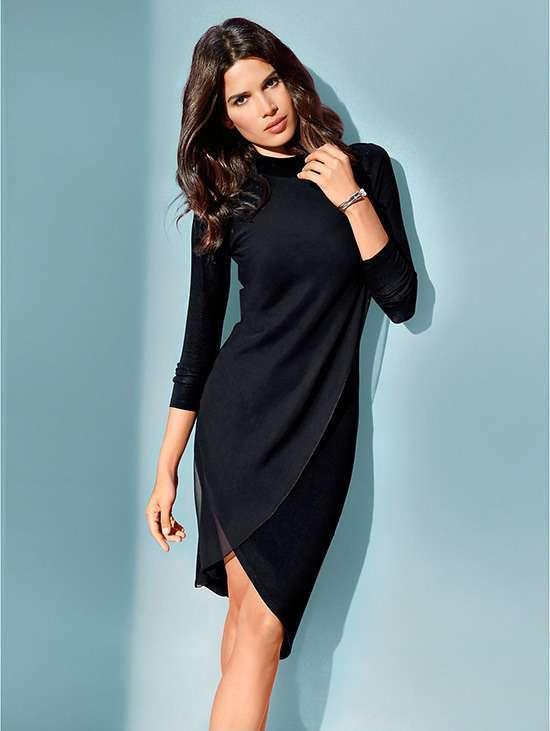 Маленьке чорне плаття: вихідний наряд на всі часи
