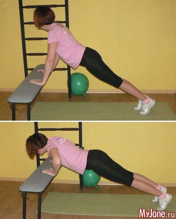 Вправи на гімнастичній лаві