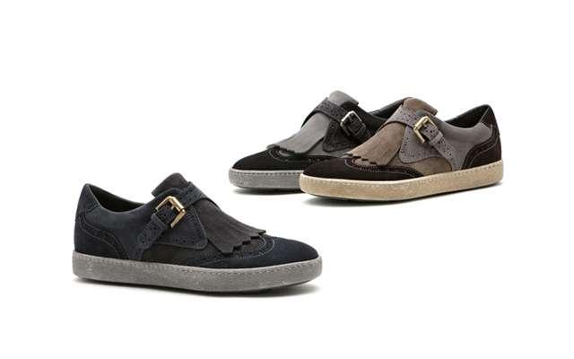 Жіночі вінтажні кросівки Santoni.
