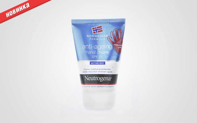 Антивіковий крем для рук від Neutrogena.